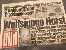 Bildzeitung BILD 18.03.1988 * Das besondere Geschenk zum 30. 31. 32. Geburtstag