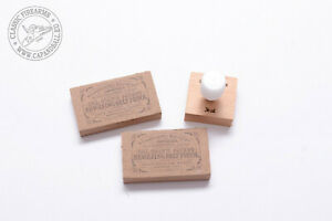 Paper cartridge former .36cal + Colt style revolver cartridge boxes .36cal(2pcs)
