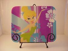 Vintage Disney Store Exclusive Rare Tinkerbell Tinker Bell Plate Rectangle