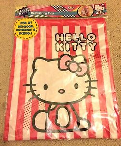 HELLO KITTY EXTRA LARGE STORAGE TOTE DRAWSTRING TIDY CARRY BAG XL BRAND NEW