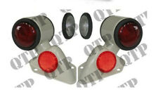 Fordson Dexta Tractor Rear Butler Lamps with Brackets as shown,