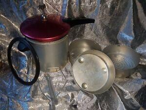 DDR großer Schnellkochtopf Aluminium