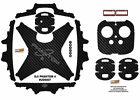 Carbon Fiber DJI Phantom 4 P4 Skin Wrap Decal Sticker Vinyl Ultradecal Skinz