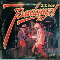 """ZZ TOP - Fandango! (PS 656, 1976 Pressing) - 12"""" Vinyl Record LP - VG+"""