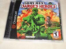 Army Men: Sarge's Heroes (Sega Dreamcast, 2000) - NEW in sealed packaging