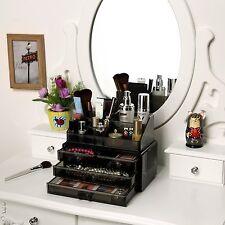 Cosmetic MakeUp Organizer Jewerly Display Box Bathroom Storage Case