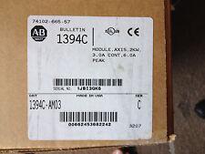 NEW ALLEN BRADLEY 1394C-AM03 SERIES C