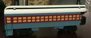 Polar Express Train G gauge Observation car with disappearing  hobo 7-11022