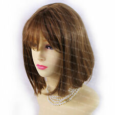 Wiwigs Gorgeous Short Style Bob Strawberry Blonde & Brown Mix Ladies Wig