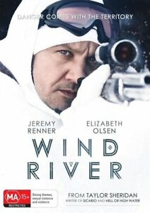 Wind River DVD Fast Free Post Aus Region 4, Fast Free Post AS NEW