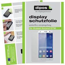 1x dipos Huawei Ascend G750 Film de protection d'écran protecteur antireflet
