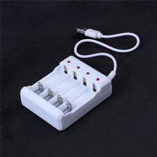1 x cargador de batería AA y AAA 4Ports cargador de batería con conector  H4