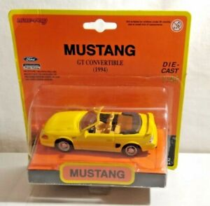 NEW RAY 1:43 SCALE 1994 FORD MUSTANG GT CONVERTIBLE  48652 - SEALED BLISTER PACK