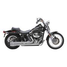 Vance & Hines LongShots HS Slash Cut, Chrom, für Harley - Davidson FXST 87 - 06