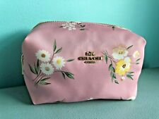 Coach Cosmetic Case Travel Bag with Tossed Daisy Print