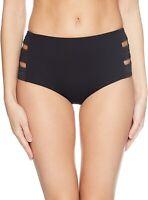Seafolly Women's 177875 Quilted High Waisted Bikini Bottom Swimwear Size 6