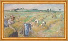 The Harvest Camille Pissarro raccolto fieno donne campo agricoltura B a3 00921