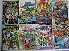 Mighty Crusaders 1983 Red Circle/Archie #1,2,5,7,8,9,11,12.