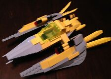 Custom Lego Star Wars Gungan Fighter, (Yellow and Gray) Post Clone Wars!