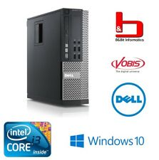 PC DELL 790SFF I3-2100 RAM 4GB HD 250GB DVD-RW WINDOWS 10 PRO - RICONDIZIONATO -