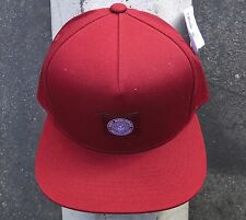 Obey  Skate Co. Downtown Wine Mens Snapback Hat One Size
