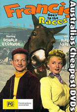 Francis Goes To The Races DVD NEW, FREE POSTAGE WITHIN AUSTRALIA REGION 4