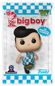 Big Boy Funko NFT Series 1 2021 Premium Pack (15 Digital NFTs) Mint # 1,160