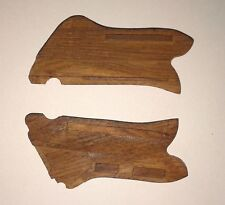 WW2 GERMAN LUGER WOOD GRIPS REPO