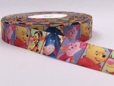 DIY 5 Yard 1'' cartoon animals Printed Grosgrain Ribbon Hair Bow Sewing Ribbon