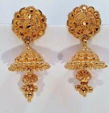 TOP CLASS CHANDELIER 22KARAT GOLD JHUMAKI EARRING AWESOME FILIGREE WORK JEWELRY