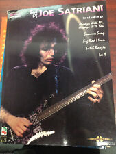 Satriani - Best of Guitar Tab Tablature Song Book - BRAND NEW