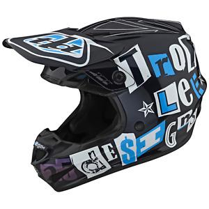 Troy Lee Designs Se4 GP Helmet TLD Mx Motocross Dirt Bike Enduro ANARCHY NAVY