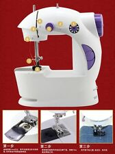 TRI- MINI SEWING MACHINE 4 IN 1 WITH ADAPTER- FOOT PEDAL