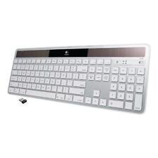 Logitech K750 Wireless Keyboard — Solar Recharging, Mac-Friendly - Silver