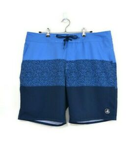 BODY GLOVE Mens Dark / Light Blue Board Swim Surf Summer Shorts - Size 36