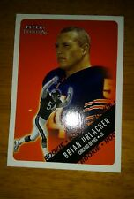 2000 Fleer Tradition Brian Urlacher Rookie Card #309 of the Chicago Bears H.O.F.