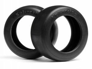 HPI Racing 1/10 Vintage SLICK Racing Tire 31mm Wide D Compound  (2pcs) #4792