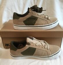 Ipath Stash Vulc Sesame Hemp Beige Mens Boys Suede Skate Shoes UK Size 6 BNIB