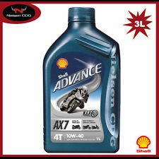 Shell 4-Stroke Semi/Part Synthetic Vehicle Engine Oils