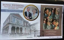 Benham 9.4.2005 ROYAL WEDDING FDC Signed ANNA VALENTINE, Fashion Designer
