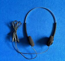 Vintage SONY MDR-006 Headphones Black Adjustable USED Tested and Working