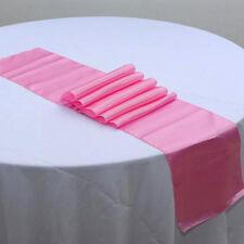 "30*275CM Satin Table Runner Wedding Party Banquet Venue Decorations 12""x108"" LJ"