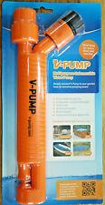 Water Pump Submersible V Pump Garden Hose Powered Venturi Pump V-Pump