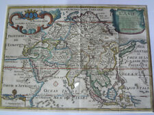 Antique 1717 L'ASIE asia map by De Fer filipiniana philippines