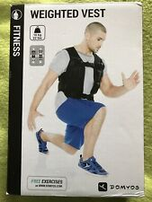 Domyos Weighted Vest Removable Weights.  X 3
