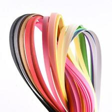 180 Stripes Quilling Paper 3-7mm Width Mixed Color Colors E9W5 For DIY T8Z7