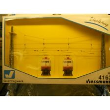 ** Viessmann 4163 4 Track Catenary Headspan 1:87 H0 Scale