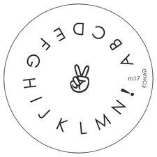 Konad stamping galería de símbolos m17 plate Nails Nail Art Stamp