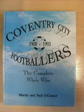 1993 Yore Publications: Coventry City Footballers, The complete Who's Who by Mar