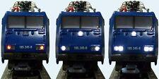 S039 Umbauset für H0 Märklin + Trix Loks Decoderadapter und Beleuchtung weiß MSD